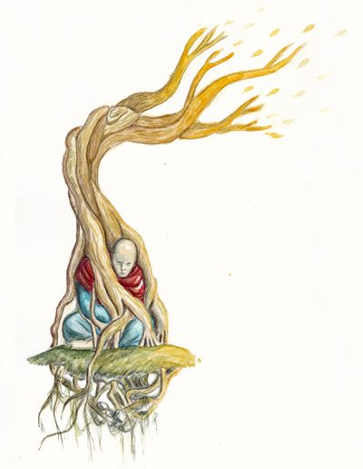 Rooted Monk